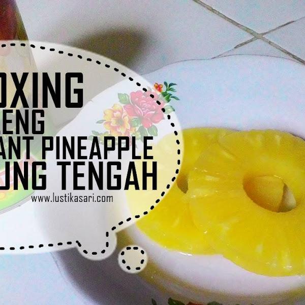 UNBOXING: Nanas Kaleng PT Great Giant Pineapple Lampung Tengah