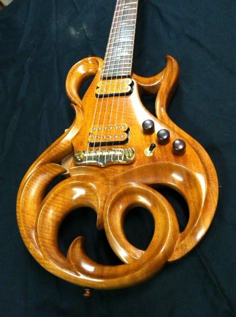 Rigaud Guitars Blog The Beautiful Phoenix Electric Guitar