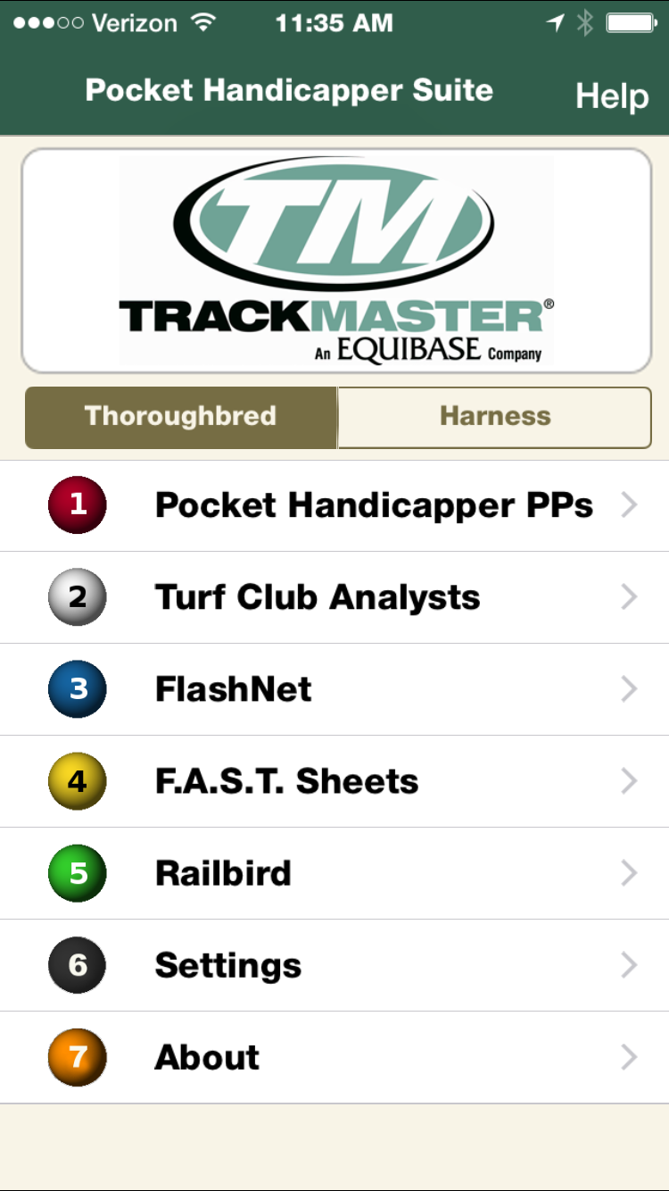 TurfPublicists: TrackMaster Introduces the Pocket Handicapper Suite