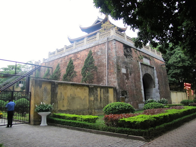 north gate imperial city hanoi vietnam