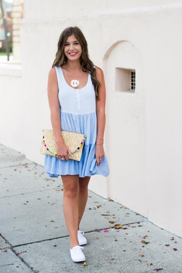 Rails Tiered Chambray Dress | Chasing Cinderella