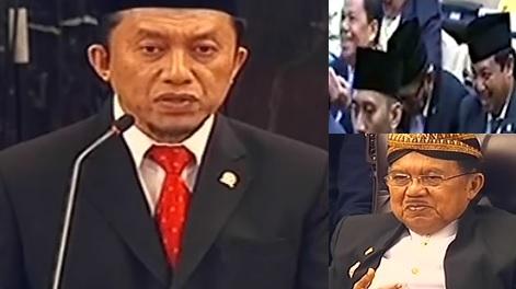 Kocak !! Doa Tifatul Sembiring Sidang Tahunan MPR Suruh Jokowi Gemuk