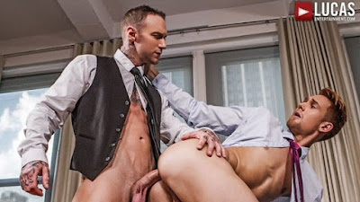 Dylan James Gives Emerson Palmer`s Ass Professional Training