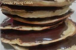 Resep Pancake Pisang Coklat yang manis dan lezat