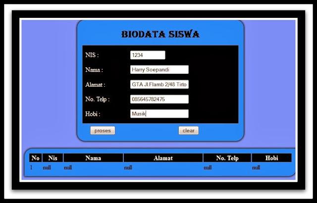 Download Aplikasi Pembuat Biodata Siswa Untuk Semua Jenjang