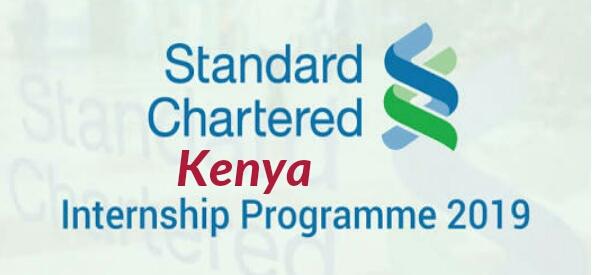Standard Chartered Bank Internships 2019/2020 Kenya