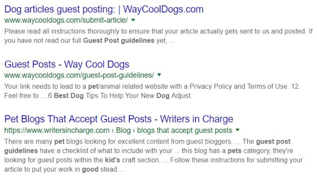 find pet blogger outreach guest posts