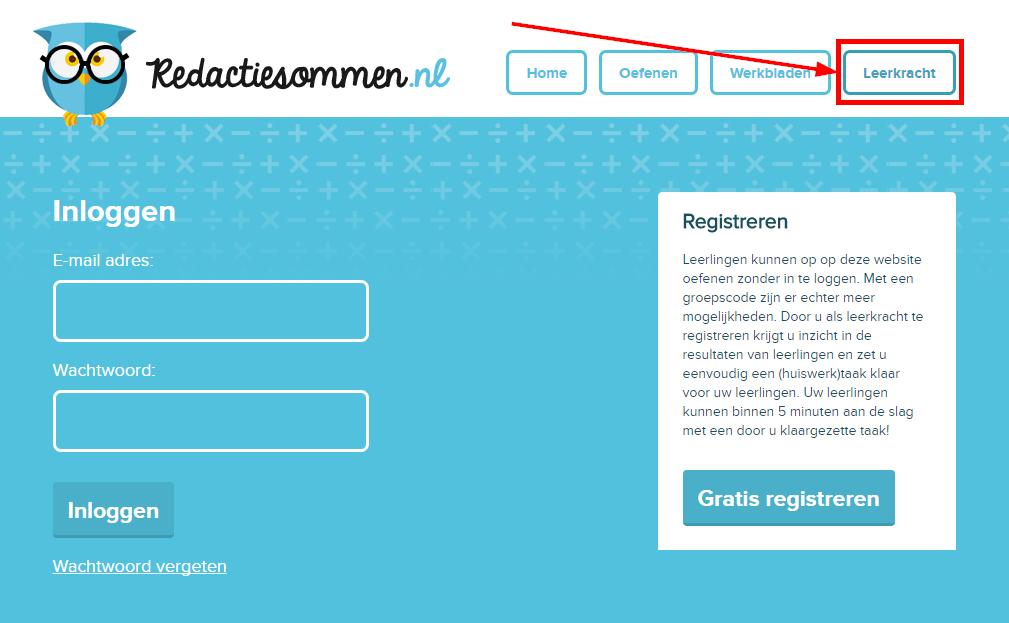 nieuw op 'redactiesommen.nl': zet oefentaken met vraagstukjes klaar