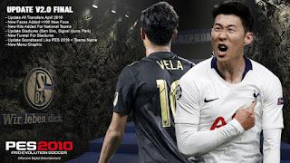 PES 2010 Next Season Patch 2019 Update 2.0 Final