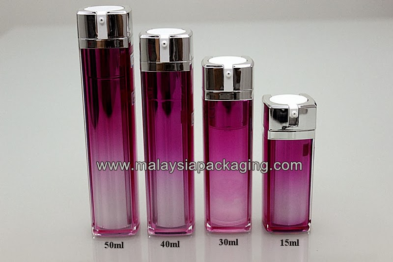 Malaysia Perfume Bottles Tnt Cosmetic Airless Pump