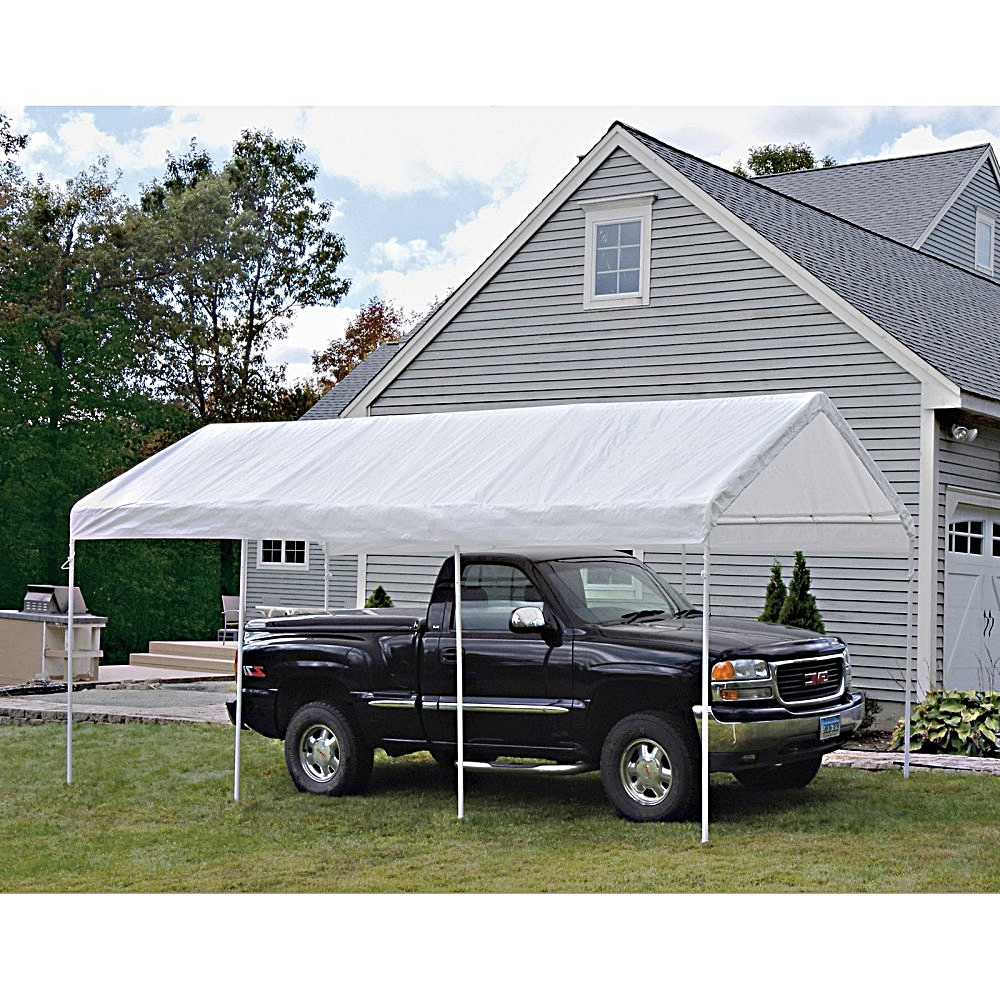 Outdoor Gazebo Canopy 20x10 ft. All-Purpose 8 Leg Shelter ...