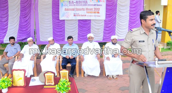 News, Kerala, School sports meet , Kasargod, Deli, Sa-adiya School sports meet conducted.