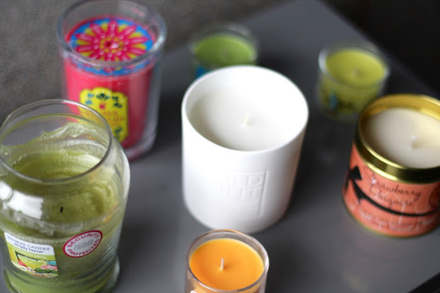 Candle Review - The White Company, Bath and Body Works, the Body Shop, Kiss Air
