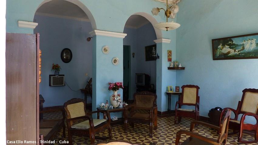 Casa Hostal Elio Ramos Living room Trinidad -  Cuba