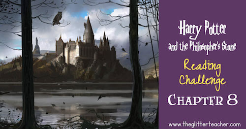 Harry Potter and the Philosopher's Stone Reading challenge online trivia quiz. Chapter 8