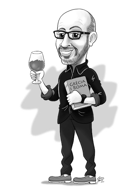 caricatura joan gomez pallares