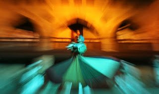 Whirling dervishes perform an Egyptian Sufi dance in Cairo. Whirling dervishes perform an Egyptian Sufi dance in Cairo