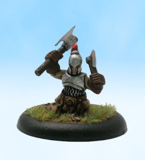 Pathfinder RPG Miniature Conversion Halfling fighter
