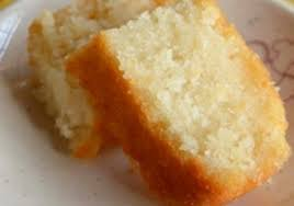 eggless and butter less cake vanilla