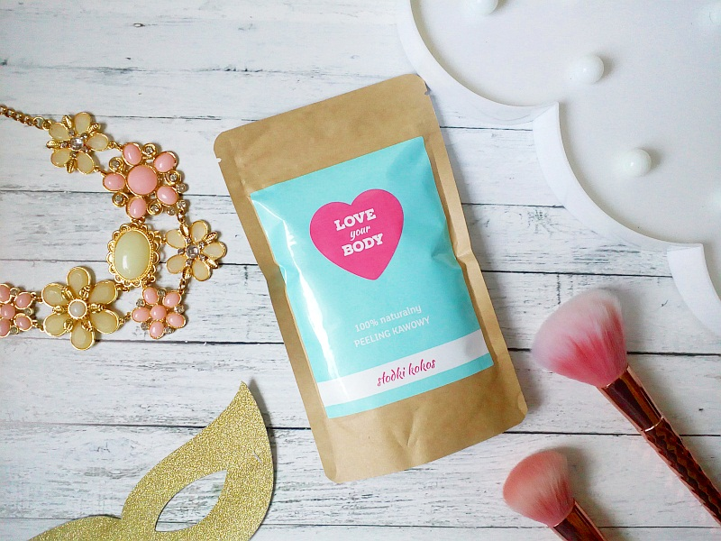 Peeling LOVE YOUR BODY: słodki kokos.