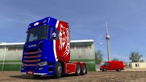 Bear Skin Scania S