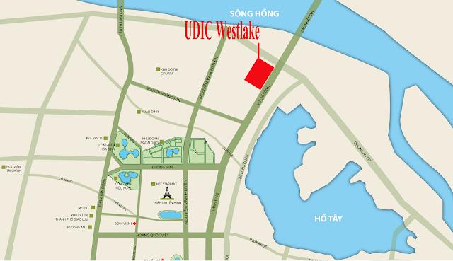Ra hàng đợt 1 dự án UDIC Westlake Võ Chí Công