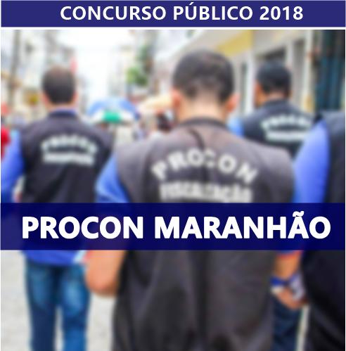 Concurso Procon Maranhão - Edital 2018