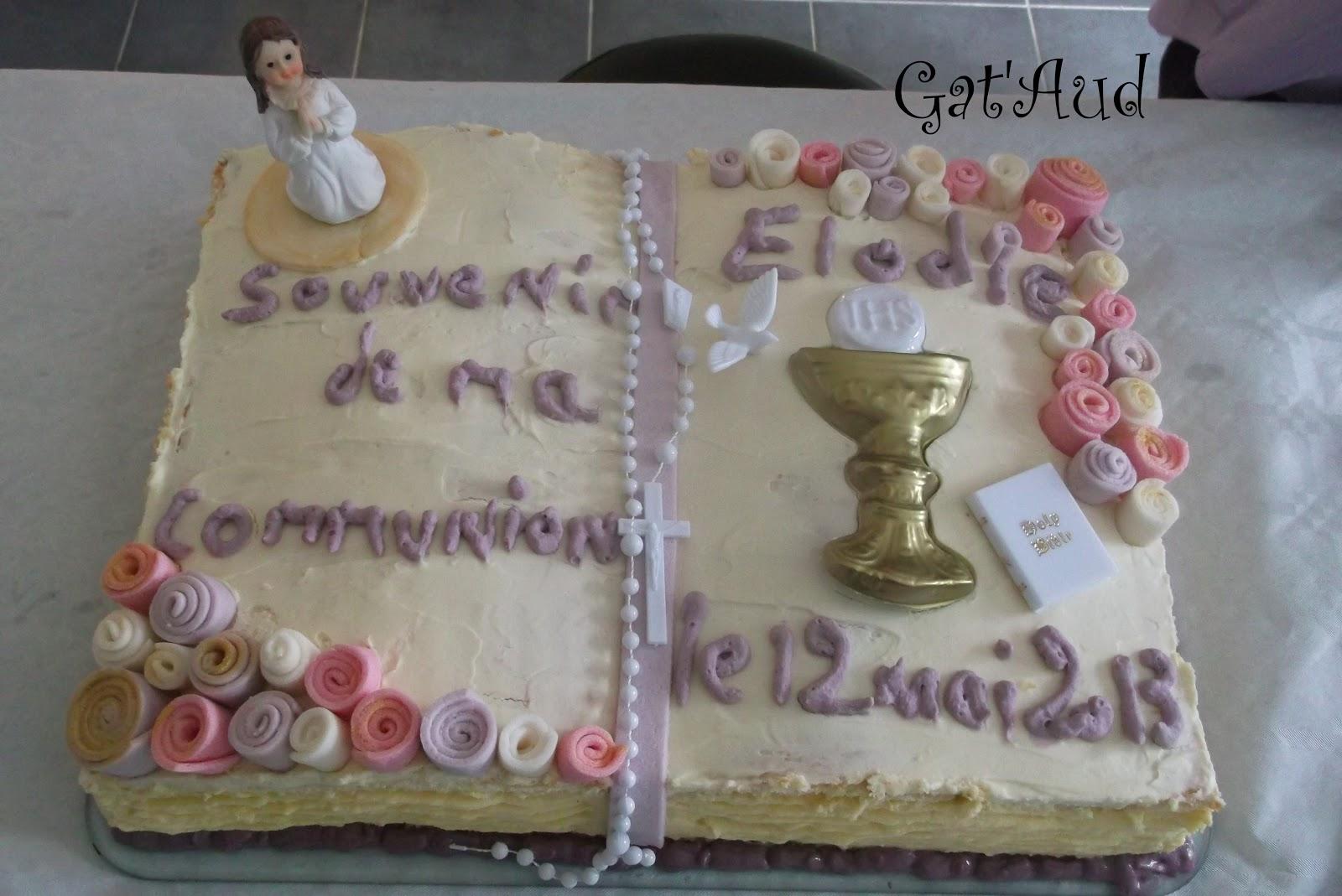 Assez Gât'Aud: Gâteau Livre ou Missel QC37