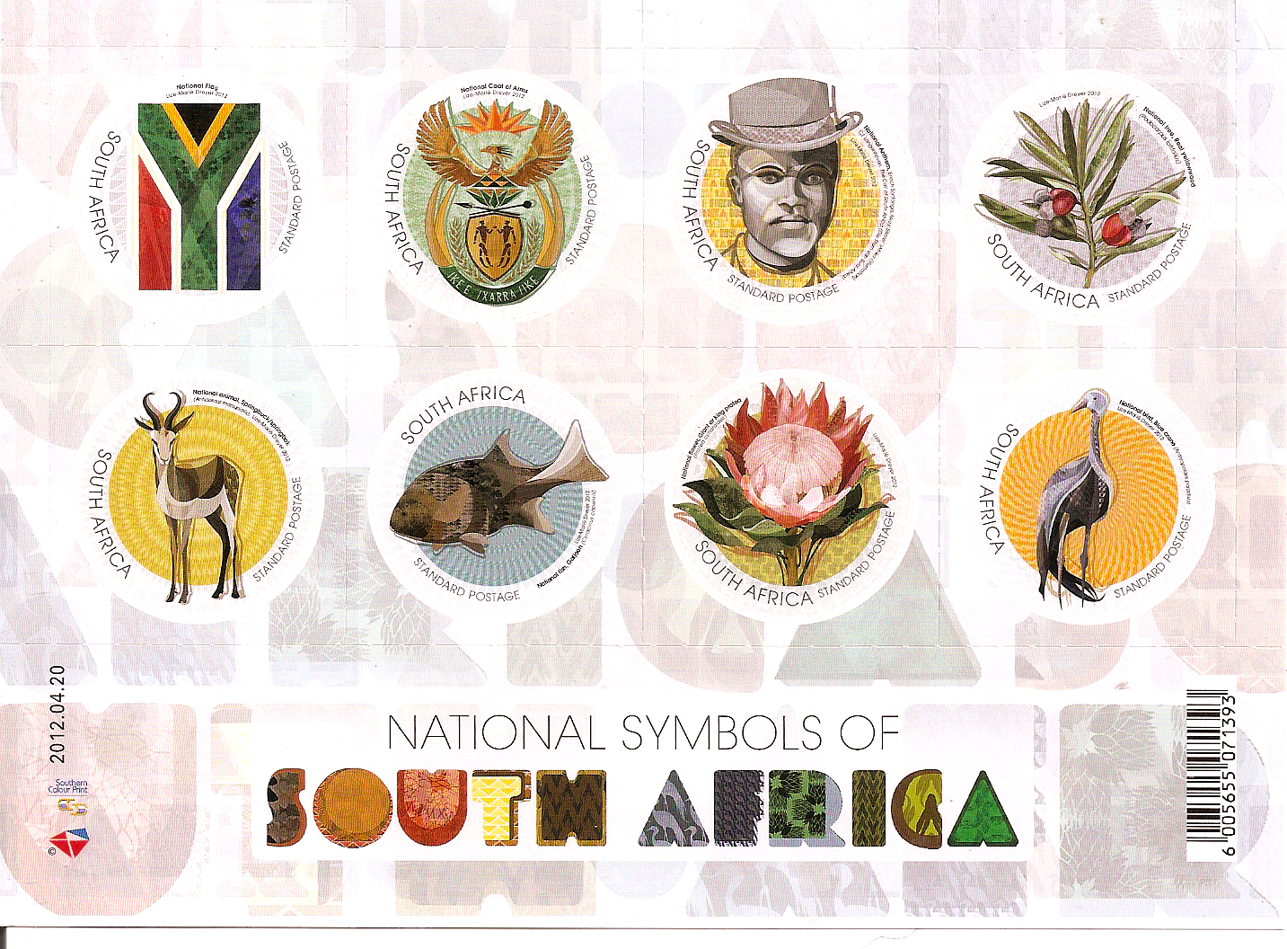 Commonwealth Stamps Opinion 190 South Africa And Sri