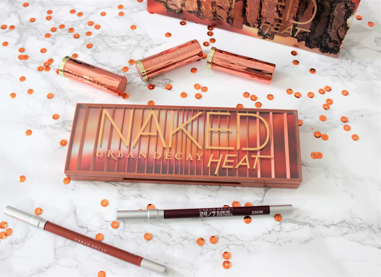 UD Naked Heat Palette Review Swatches