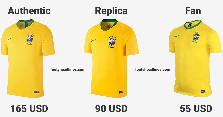 size 40 50d32 f1258 Authentic vs Replica vs Supporters - Compare All Nike 2018 ...