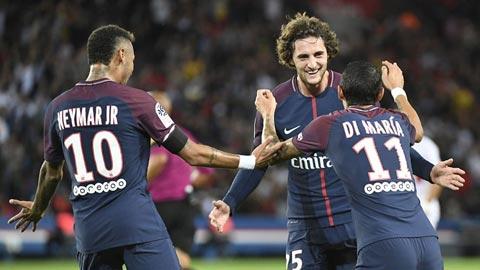 Đánh giá cơ hội của câu lạc bộ PSG trong mùa giải 2016 - 2017.