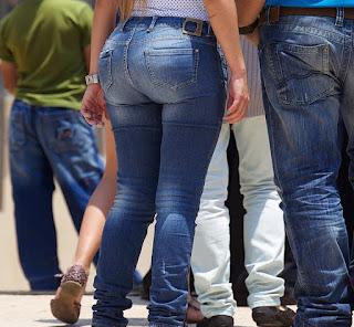 señoras pantalon ajustado