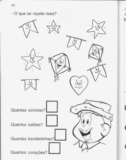 Jornal Ponto Com Atividades De Festa Junina Modelos Para Festa