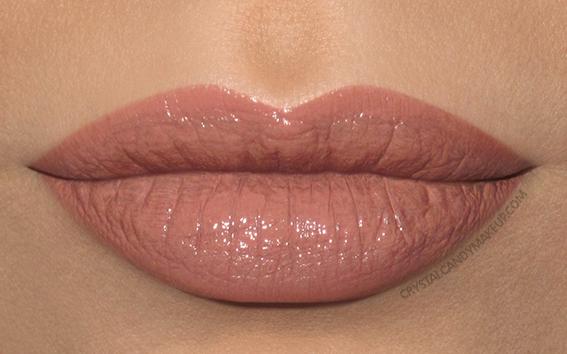 Lise Watier Rouge Intense Suprême Lipstick Swatch Clara