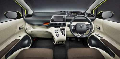 All New Toyota Sienta 2016 Technology