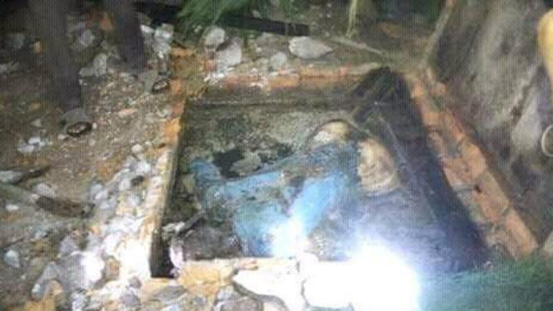 Septic tank, lokasi ditemukan jasad Nia