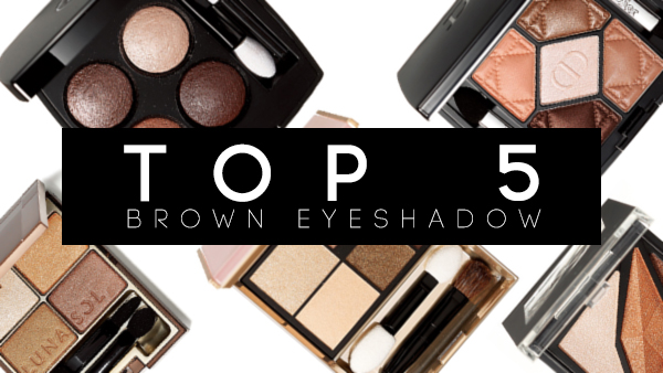 TOP 5 brown nude eyeshadow asian japanese