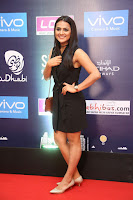 Actress Shraddha Srinath Stills in Black Short Dress at SIIMA Short Film Awards 2017 .COM 0028.JPG