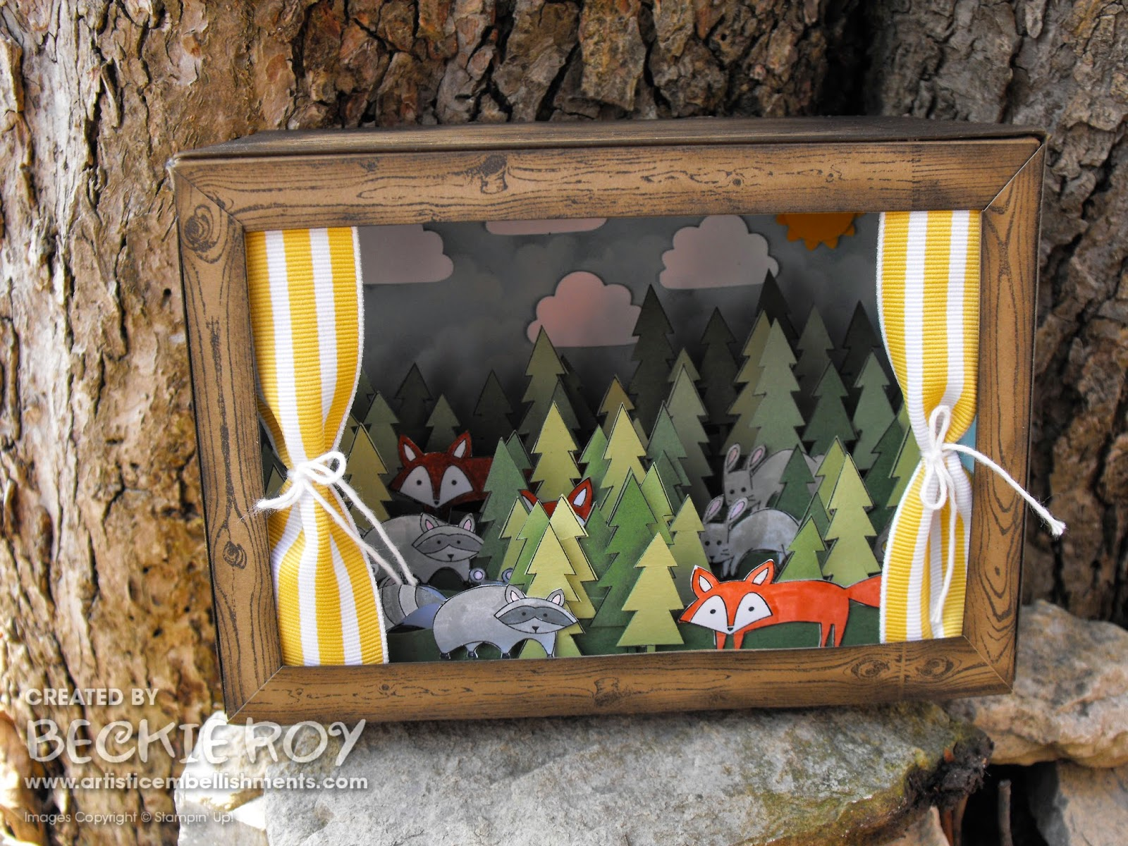 Artistic Embellishments Life In The Forest Diorama