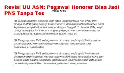 Berikut Kriteria Pengangkatan Honorer Tanpa Tes Menurut Panja DPR