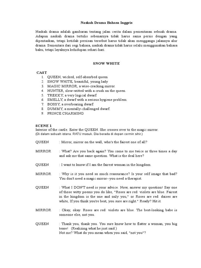 naskah drama bahasa inggris - wood scribd indo