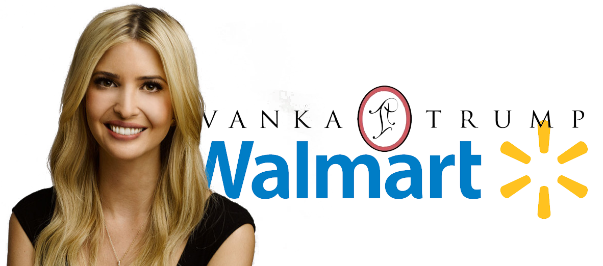 Ivanka Trump clothing at Walmart Stores