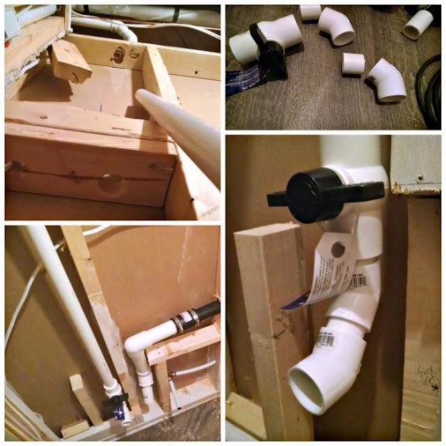 macerating toilet install