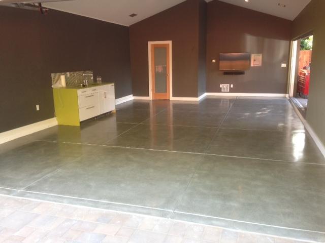 San Jose Ca Residential Concrete Polishing Cornerstone