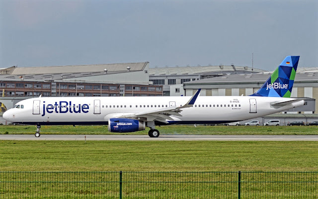 a321 jetblue airways newly delivery