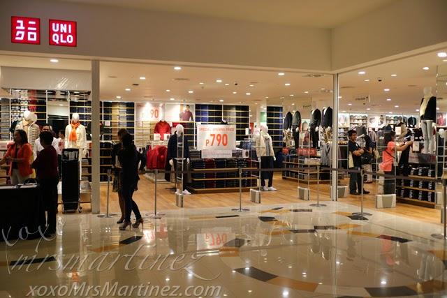 Uniqlo Opens In Power Plant Mall Rockwell Center Xoxo
