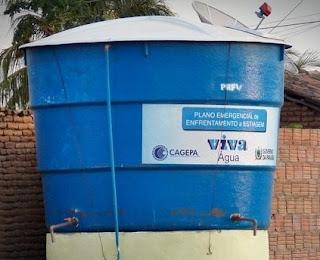 Em Picuí moradores reclamam da falta de água nas caixas colocadas na cidade