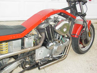 newschool extreme bobber sportster ironhead ducati parts