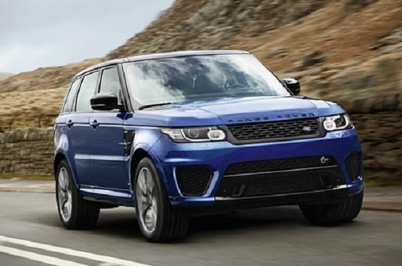 2015 Range Rover Sport SVR Release